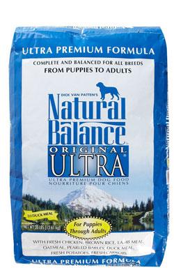 """נטורל באלנס מזון לכלב אולטרה פרימיום 13.6 ק""""ג"""