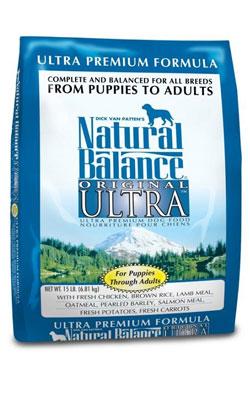 """נטורל באלנס מזון לכלב אולטרה פרימיום 6.8 ק""""ג"""