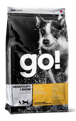 """גו מזון ברווז לכלב סנסטיב 11.3 ק""""ג"""