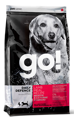 """גו מזון לכלב כבש 5.44 ק""""ג"""