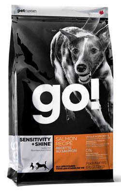 """גו מזון סלמון לכלב סנסטיב 11.3 ק""""ג"""