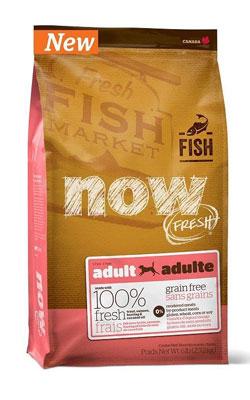"""נאוו מזון לכלב בוגר דגים ללא דגנים 2.72 ק""""ג"""