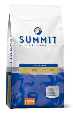 """סאמיט מזון לכלבים בוגרים שלושה סוגי בשר 12.7 ק""""ג"""