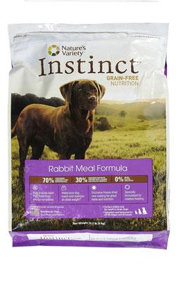 """מזון לכלב אינסטינקט ארנבת 1 ק""""ג"""