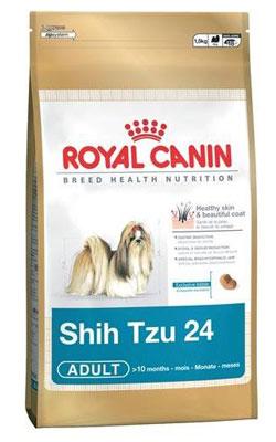 """רויאל קנין מזון לכלב בוגר שיצו 1.5 ק""""ג"""