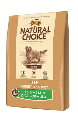 """נוטרו צ'ויס מזון לכלב לייט כבש ואורז 13.6 ק""""ג"""