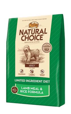 """נוטרו צ'ויס מזון לכלב בוגר כבש ואורז 13.6 ק""""ג"""