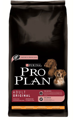 """פרו פלאן מזון לכלב בוגר עוף ואורז 7.5 ק""""ג"""