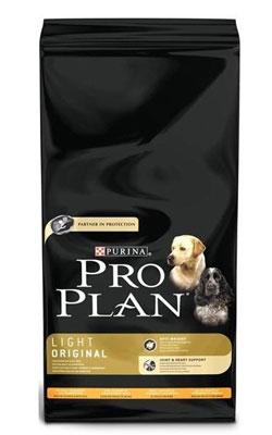"""פרו פלאן מזון לכלבים לייט עוף 14 ק""""ג"""