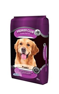 """מזון לגורים פרימייר 17 ק""""ג Premier Club Puppy"""