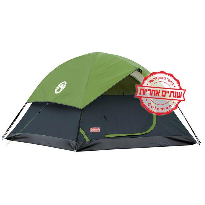 אוהל ל-2 אנשים- 3- COLMAN SUNDOME