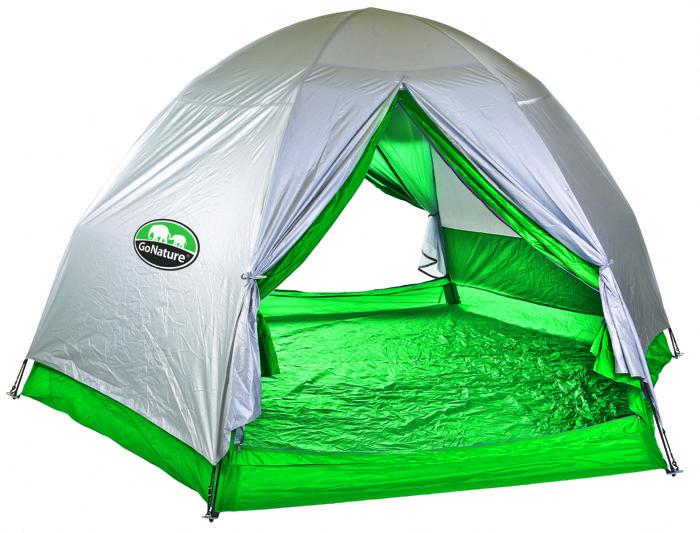 אוהל בן רגע ל-6 רב עונתי GO NATURE