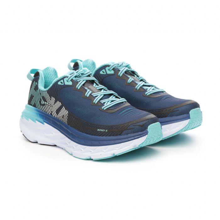 נעל ריצה לנשים - Hoka -Bondi 5 MEDIUM/WIDE