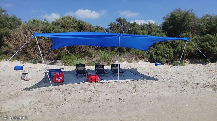אוהל חוף (ציליה) COLEMAN- XL