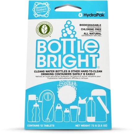 טבליות לניקוי שלוקרים - Bottle Bright®