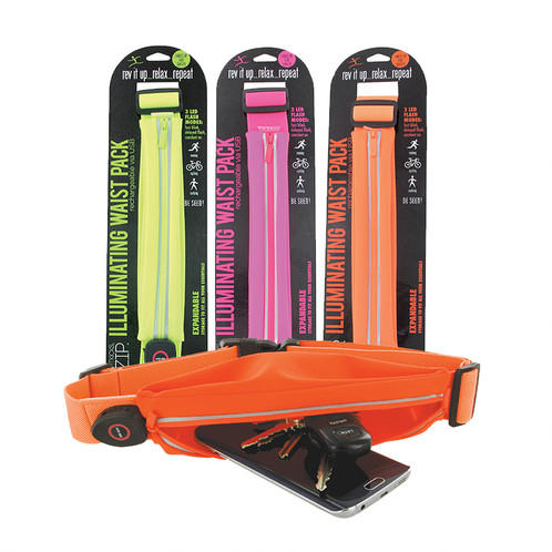חגורת ריצה עם נצנץ- FITZIPILLUMINATING WAIST PACK