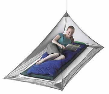 כילה נגד יתושים פירמידה יחיד- MOSQUITO PYRAMID NET STS