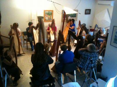 harp in israel, rent a harp israel