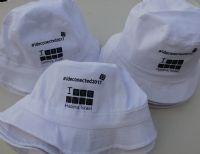 כובע טמבל לבן