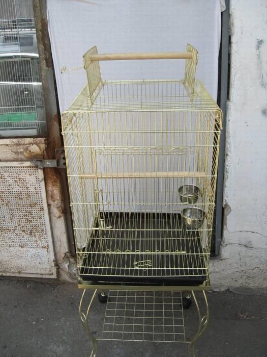 כלוב לג'אקו+ עגלה