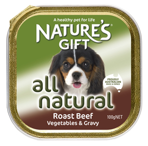 Natures Gift רוסטביף ברוטב ירקות 100 גרם