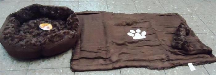 ערכה שטיח + מיטה לכלב