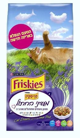 """פריסקיס - מעדני החתול- 7.2 ק""""ג"""