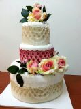 towel cake - עוגת מגבת מהודרת - מתנה לזוג