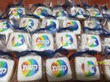 עוגיות מעוצבות לקשת ומאקו