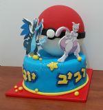 עוגת פוקימון ליום הולדת של רביב וחבר