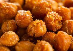 גרגרי חומוס צלויים בצ'יפוטלה (טבעוני)