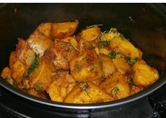 תפוחי אדמה בסגנון הודי