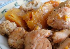 תבשיל סלמון, ירקות וקוואקר
