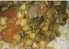 מרק גרונות חומוס וירקות