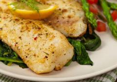 פילה דג מוסר מאודה בירקות