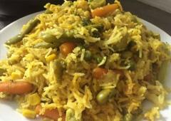 אורז עשיר ומפנק עם המון בריאות וצבע