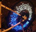 מנורת LED לחישורי גלגל האופניים, 3 צבעים