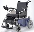 כסא גלגלים ממונע מאלומיניום