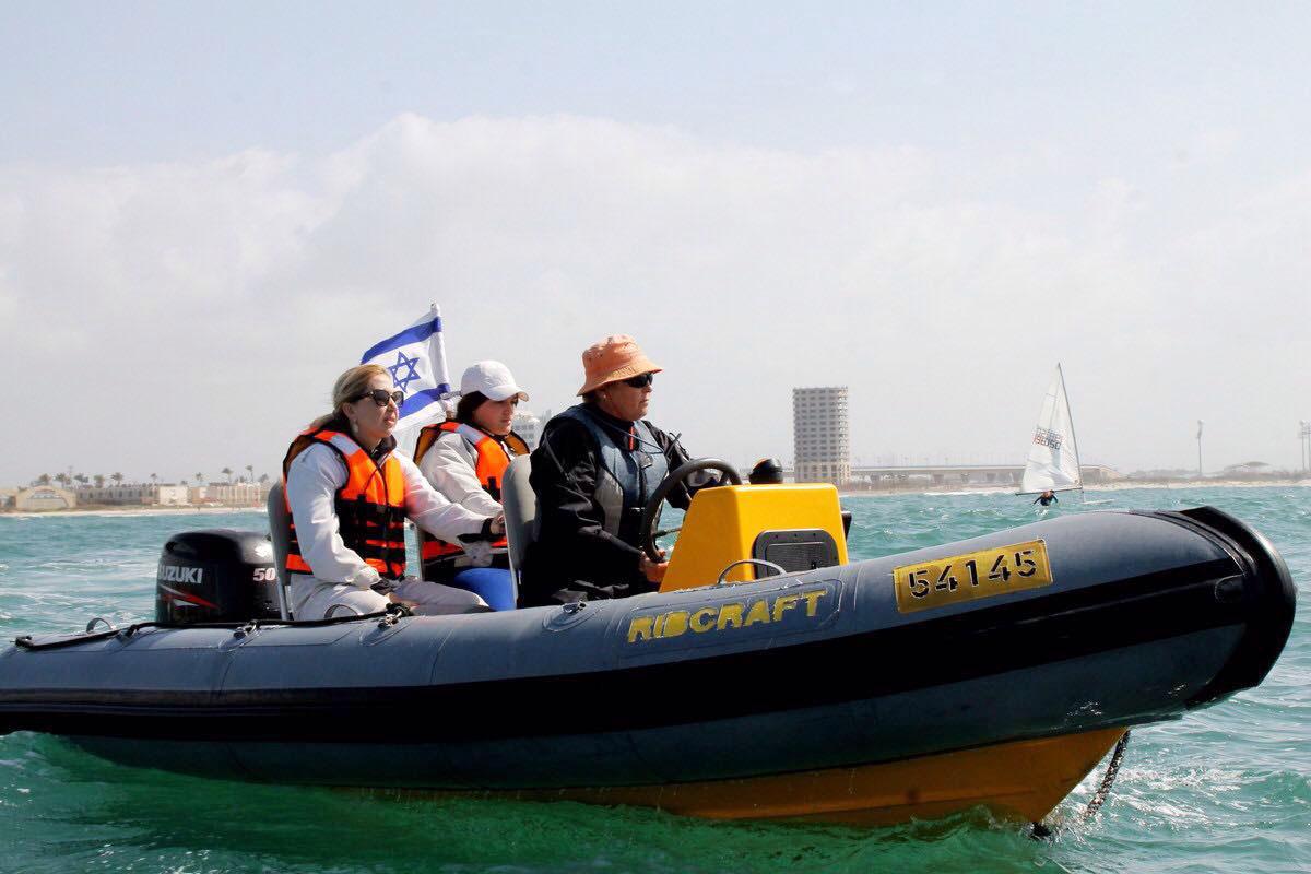 פעילות ימית - קציני ים עכו
