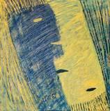 זוג צהוב כחול  50*50