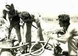 מים לוקחים בדלי מנרה שנות ה-50