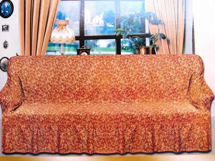 כיסוי סלון עוטף(כיסוי לספות)-גומי-מבד מיקרופייבר
