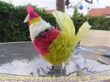 תרנגולת משאריות ניילונים