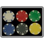 ז'יטונים פוקר 11.5g Suite במבחר צבעים