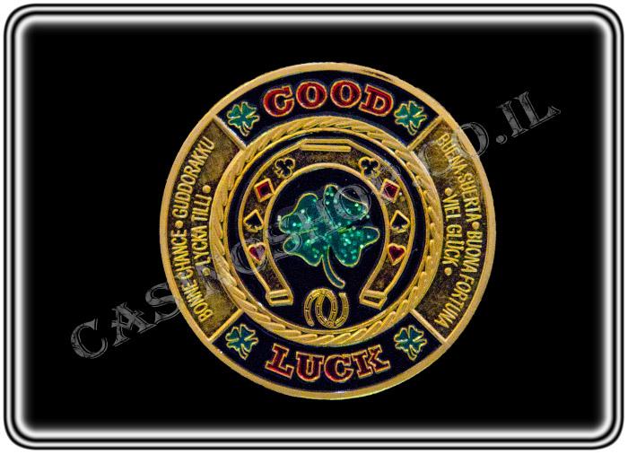 מגן קלפים Good Luck