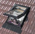 חלון לגג רעפים ציר כפול CLAUS