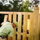 ייצור גדרות עץ