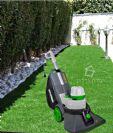 שואב חשמלי מנקה דשא סינטטי HYUNDAI HD-7330