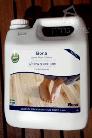 מנקה רצפות עץ בגימור לכה ושמן - צוות גדרון