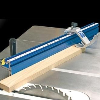 חיתוך סרגל בזווית בעזרת מוביל Kreg - צוות גדרון